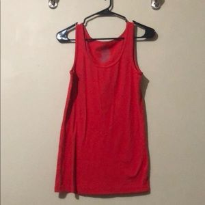 Faded Glory red tank XL (16-18)
